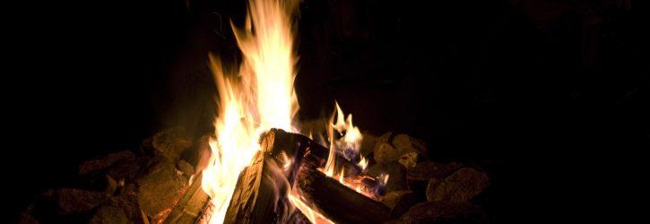 Die Feuerschale: ein Lagerfeuer mit Stil